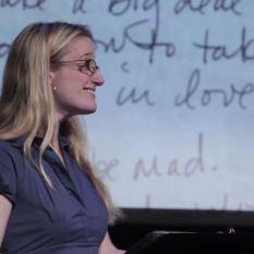 """Jen Taylor, """"Dear Dad"""" episode, June 2013"""