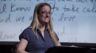 "Jennifer Lee Taylor, ""Dear Dad"" episode, June 2013"
