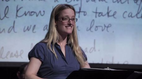 "Jennifer Lee Taylor, ""Dear Dad"" episode, June 2013"